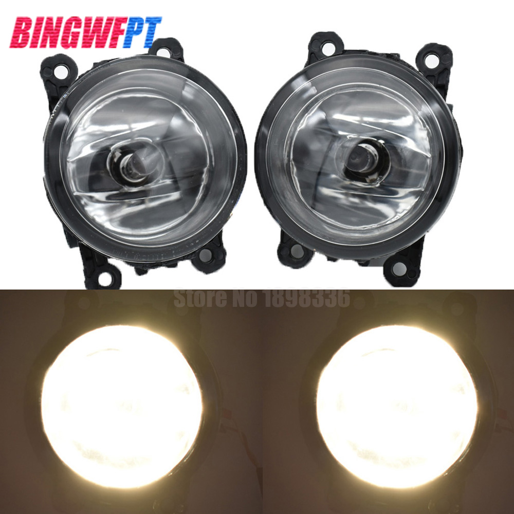 2PCS For <font><b>Renault</b></font> <font><b>MEGANE</b></font> <font><b>2</b></font> Saloon LM0 LM1 2003-2015 Car Styling High Power <font><b>LED</b></font> Fog <font><b>Lamps</b></font> Halogen Lights image