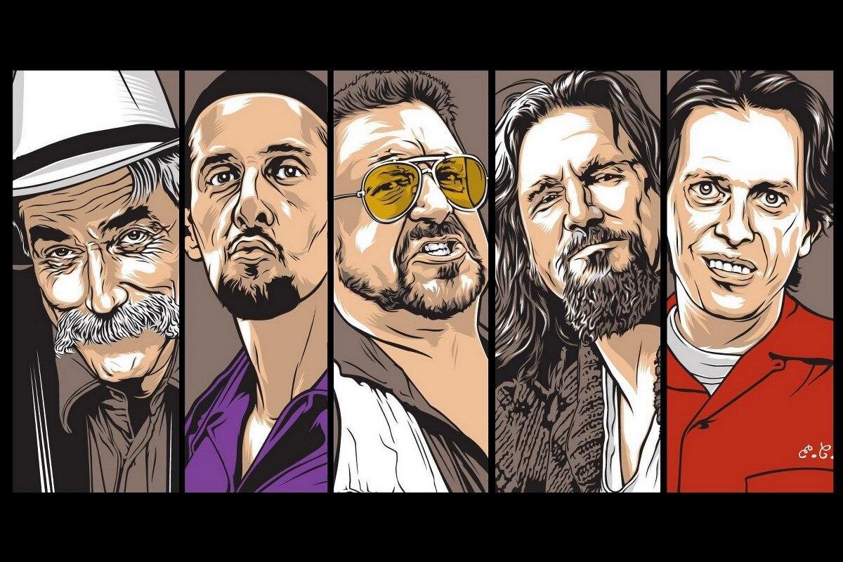 The Big Lebowski movies The Dude Jesus Quintana DY122 Room