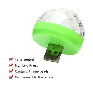 Image 2 - ITimo מיני USB LED שלב מנורת נייד כדור מנורות מסיבת קישוט צבעוני ניאון אור צבע שינוי דיסקו DJ שלב הדלקת