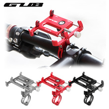 GUB PLUS 6 360 Degree Rotating Bicycle Phone Holder For 3 5 6 2inch Smartphone GPS