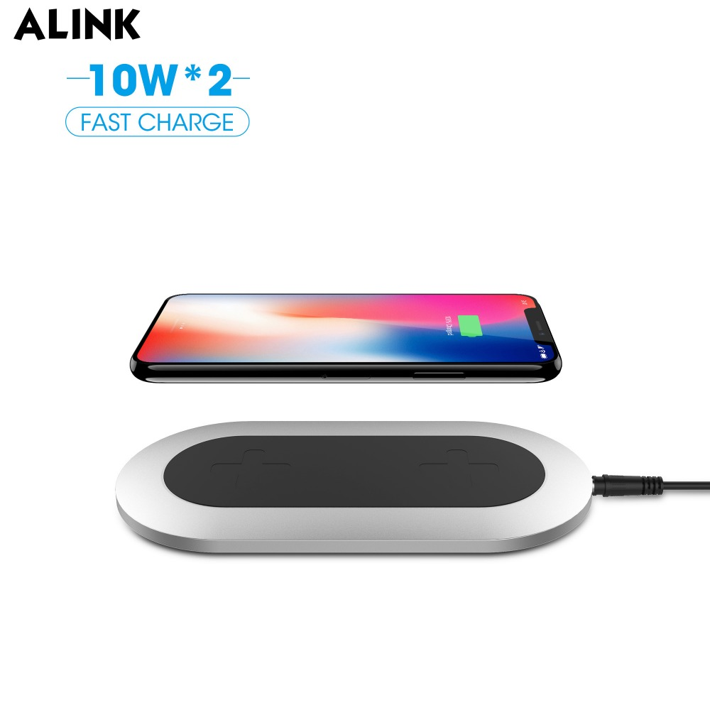 Alink Qi Certified Fast Wireless Charging For Iphone X And