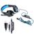 EASYIDEA Gaming Headset Gamer Auriculares Con Micrófono Auricular Atado Con Alambre LED de Aislamiento de Ruido Auriculares para el Ordenador portátil