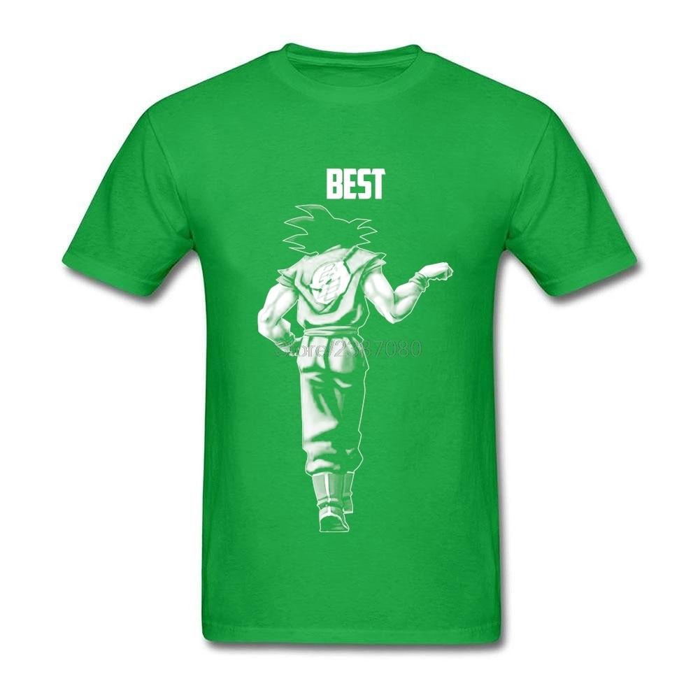 Men Super Saiyan Goku Best Friend For Life T Shirt Create T-Shirts Round Neck Short Sleeve Tees Shirt Dragon Ball Mens T Shirts
