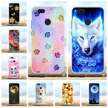 For Xiaomi Mi A1 Case Silicon TPU bumper Cover 5X Cute Coque Fundas Mia1 Mi5x Phone Cases