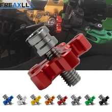 For Honda CB 599 919 400 CB600 HORNET CBR 600 F2 F3 F4 F4i 900RR Universal Motorcycle CNC Aluminum Clutch Cable Wire Adjuster 22 mm cnc motorcycle handlebar handle bar grips ends for honda cb 599 919 400 cb600 cbr 600 f2 f3 f4 f4i cbr600f cbr600rr