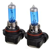 2Pcs  new H11 55W 1600lm 6000K White Car Halogen Lamps - Black + Blue (12V / Pair)