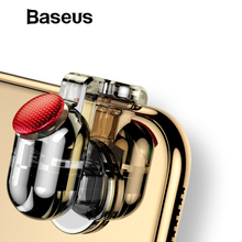 Baseus 1Pair L1 R1 Gaming Trigger Mobile Phone Games Shooter Controller Fire Button Handle For PUBG