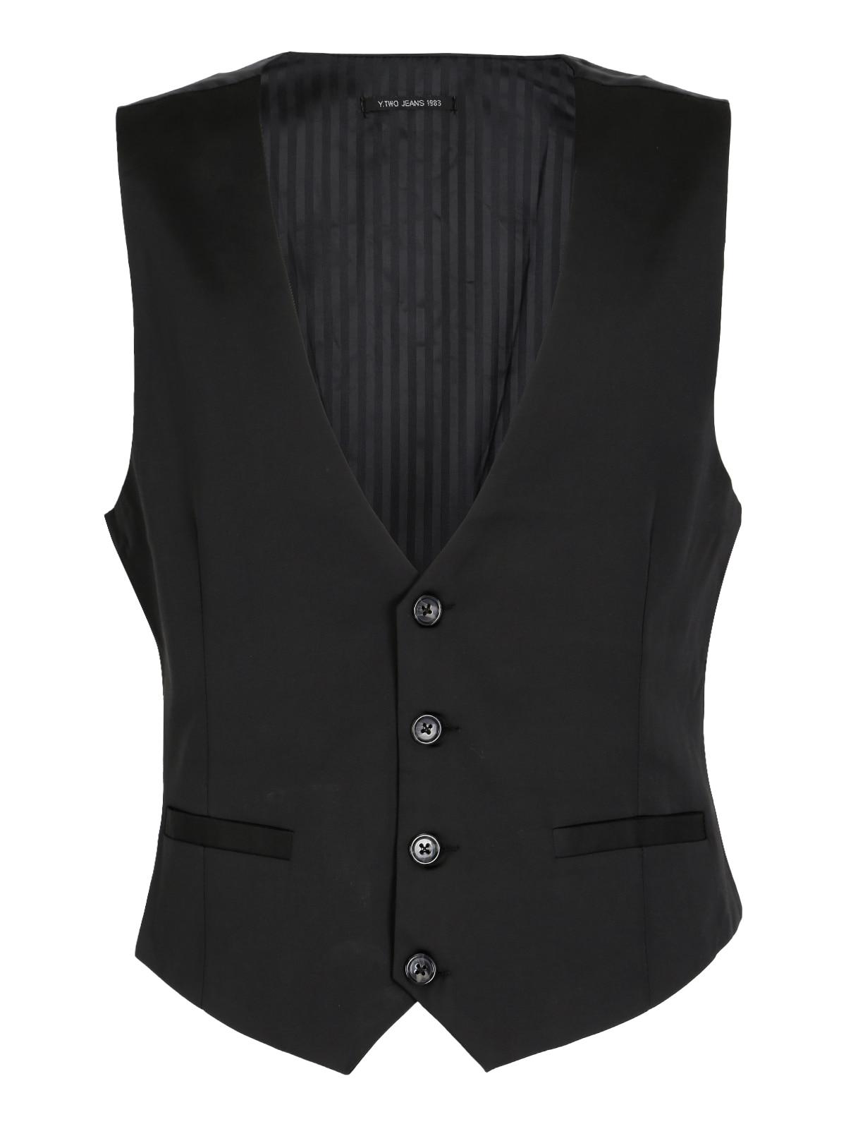 Elegant Vest Black
