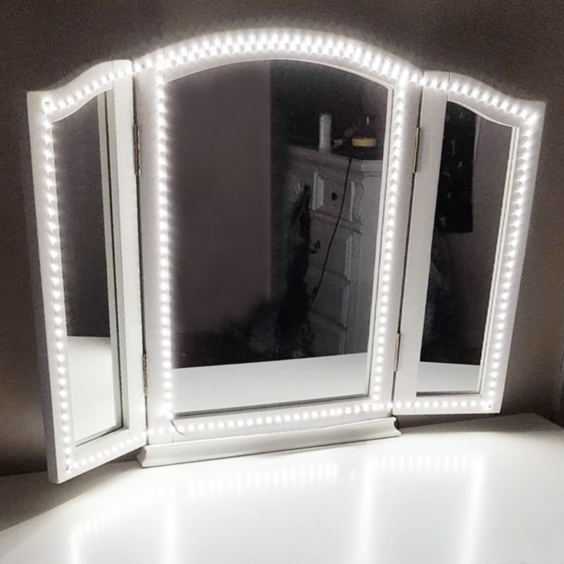 LED Lamps Belt Mirror Adjustable Light Makeup Vanity Dress Table Dimmer Home  Use In LED Strips From Lights U0026 Lighting On Aliexpress.com | Alibaba Group