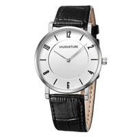 Adventine men's watch luxury brand luxury sports watch men's waterproof 30 meters super fine quartz watch men's leather watc