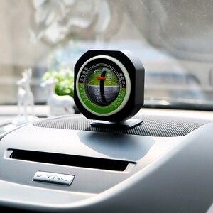 Image 5 - LEEPEE Auto pente mètre niveau inclinomètre Angle voiture boussole voiture véhicule déclinomètre dégradé haute précision intégré LED