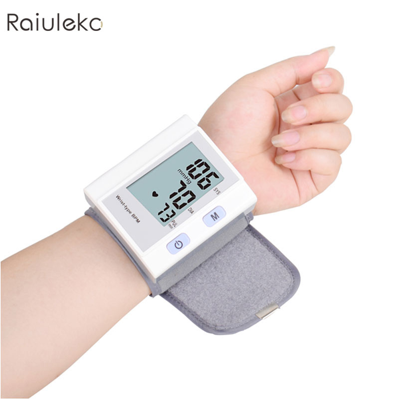 NEW Free shipping Wrist Blood Pressure Monitor Blood Pressure Gauge Tonometer bp Monitor Blood Pressure Monitor Sphygmomanometer