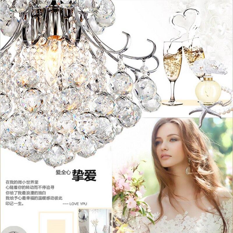 Image 5 - Jmxiuz Luxury Crystal Chandelier Living Room Lamp lustres de cristal indoor Lights Crystal Pendants For Chandeliers Free shiping-in Chandeliers from Lights & Lighting