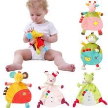 dea2363684 Del bambino del Giocattolo Della Peluche Bambola Animale Multifunzionale  Confortante di Sonno Dei Bambini Tovagliolo di