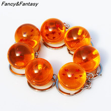 Dragon Ball Z 1-7 Star Keychain