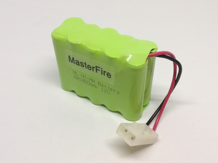 MasterFire New Original <font><b>12V</b></font> <font><b>AA</b></font> 1800mAh Ni-MH <font><b>Battery</b></font> <font><b>Pack</b></font> Rechargeable NiMH <font><b>Batteries</b></font> with plug image