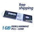 Горячее надувательство 2016 новый 1 ГБ DDR 400 ШТ. 3200 400 МГц desktop 184PIN Non-ECC низкой плотности работы со всеми платы