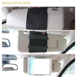 Image 3 - Tablet Visor Mount Holder for All 7 to 11 Inch Tablets / Visor Tablet Holder for iPad, iPad mini, iPad Air, Kindle Fire Tablets