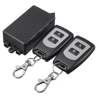 1pc 220V 10A Relay 1CH Wireless RF Remote Control Switch 1 Transmitter 2 Receiver 315MHz Remote