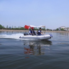 Free shipping Anti-collision thickening laminated ship hard inflatable boat fishing boat rubber boat for drifting