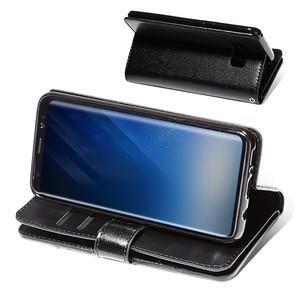 Image 5 - Funda de cuero con tapa para Samsung S20 S20 + S20 Ultra Note 10 9 8 S10E S10 S9 S8 S7 A5 A7 2017, 10 tarjeteros con cremallera