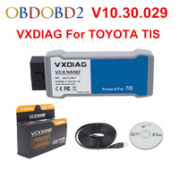 VXDIAG For TOYOTA TIS Techstream V10.30.029 c VCX NANO Support SAE J2534 Multi Languages With USB/ WIFI Connection Free Ship