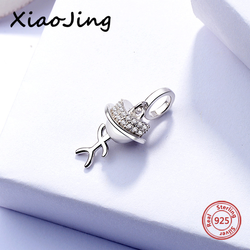 2018 New 925 Sterling Silver Matchstick Men Charm Bead Fit Original pandora Bracelet Berloques bead Jewelry making for gifts in Beads from Jewelry Accessories