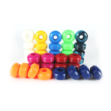 Free Shipping 4pcs Skateboard Wheels 95A Double Rocker Wheels 52mm*32mm PU downspeed sliding Wheels