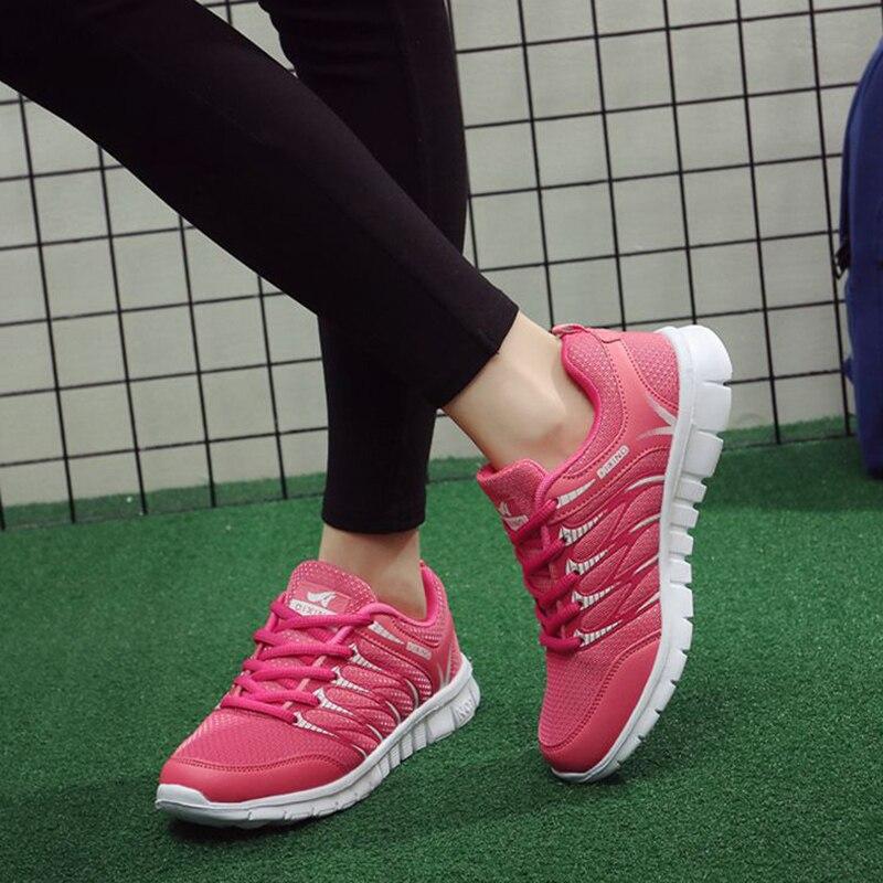 Women Vulcanized Shoes 2018 New White Sneaker Tenis Feminino Lace Up Fashion Women sneaker Lady Walking Zapatillas Mujer skechers women s ez flex 2 chilly fashion sneaker