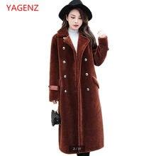 Haut de gamme personnalisé Hiver manteau De Fourrure Grande taille Femmes  Tranchée manteau Nouveau produit Imitation a60b6d62704
