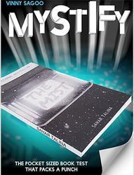 Mistificar (Truques e Instruções Online) vinny Sagoo Truques de Mágica-bolso Livro Teste Magia Close Up Props Mentalism Gimmick