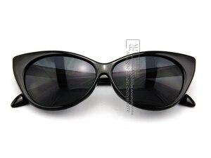 Image 3 - DHL/FEDEX Ücretsiz kargo Vintage güneş kadınlar Moda Seksi Mod Şık Rtro Marka gözlük Kedi Gözü güneş gözlüğü UV400 CE DT0170