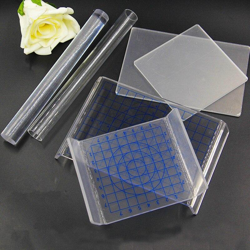 Pottery Clay Acrylic U-Shaped Press Plate DIY Tools Clay Mud Plate Hobbies