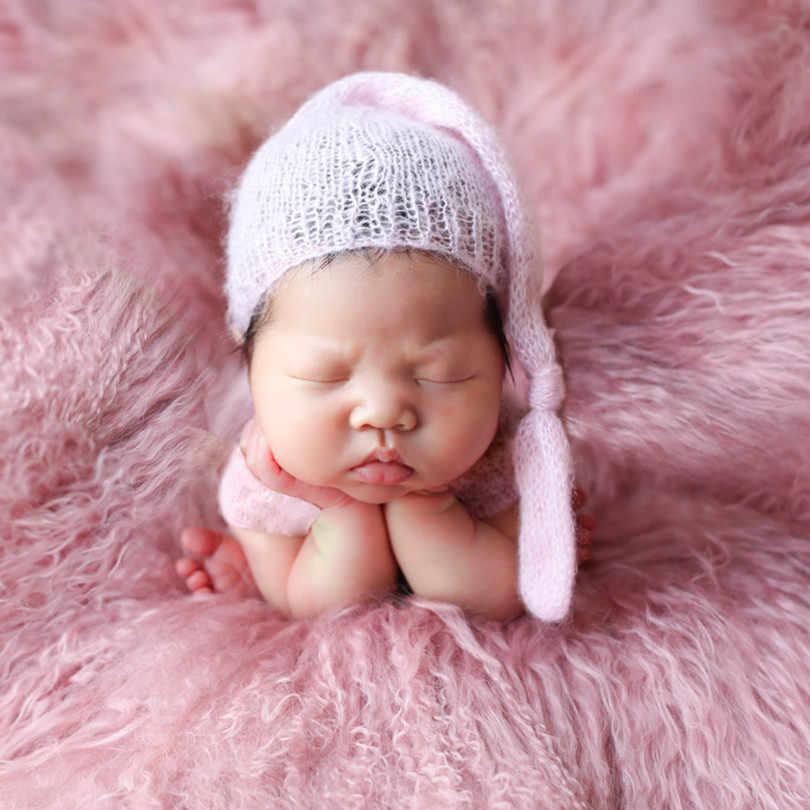 Fluffy Newborn Wool Curly Blanket