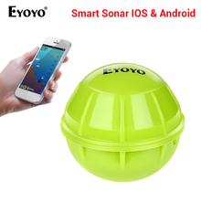 Eyoyo E1 Smart Fish Finder Wireless Sonar Fish Finder Sea Lake Fishing Detect iOS Android App Fishfinder Sonar Echo Sounder bluetooth fish finder sea fish detect device for ios for android 25m 80ft sonar fishfinder wireless fishing detector top quality