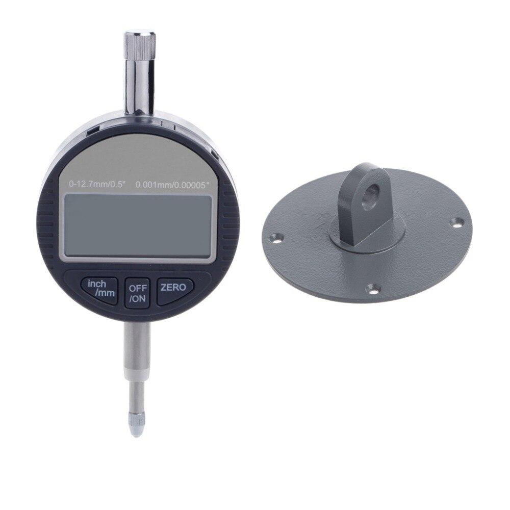 0-12.7mm Electronic Micrometer Digital Thickness Meter Gauge 0.001mm Depth Dial Indicators