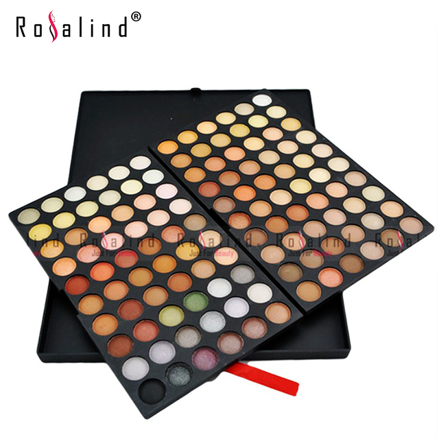Rosalind Eyes Makeup Beauty Professional 120 Color Eyeshadow Eye Shadow Cosmetics Makeup Palette Set maquiagem E120#4