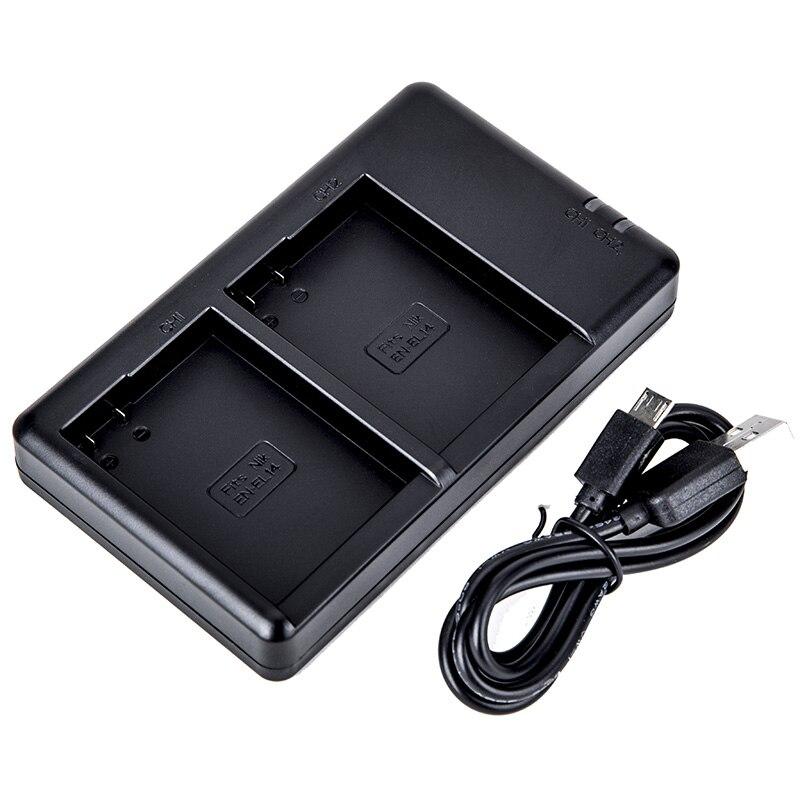 LP E6 LP E6 LP E6NLED Dual USB Charger for Canon EOS 6D 7D 5DS 5DSR