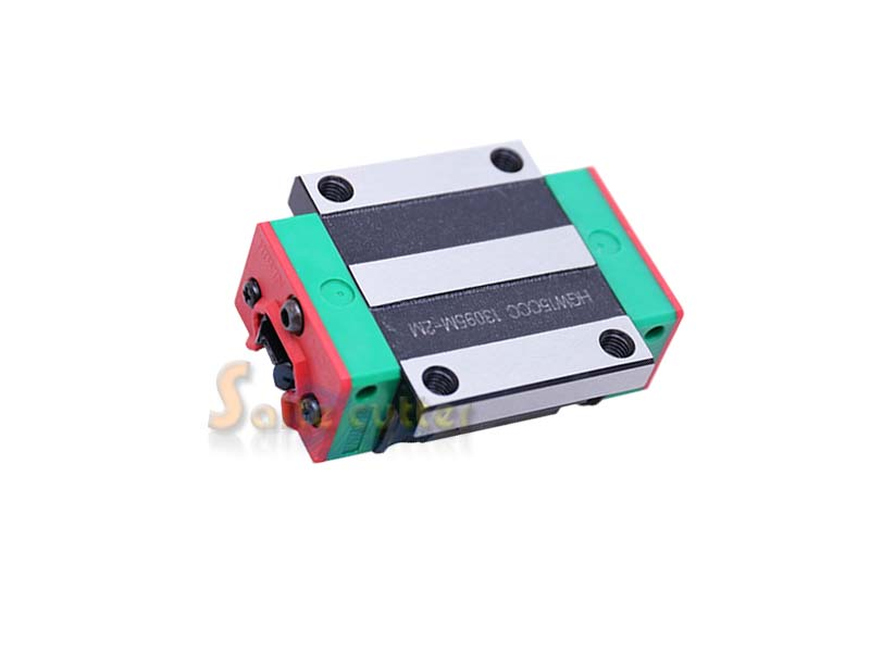 ФОТО HIWIN Linear Carriage Block Bearing HGW20CC for 20mm Rail CNC Router X Y Z Axis