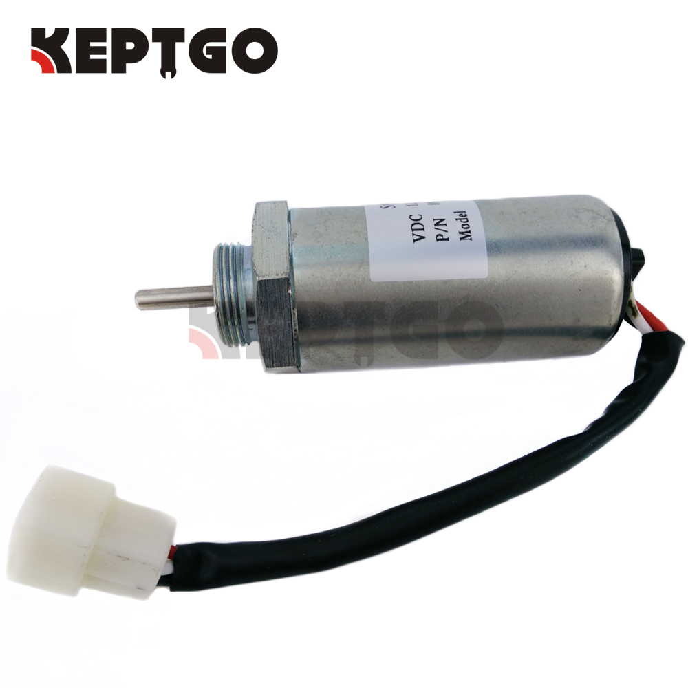 US $54 0 |For Isuzu 3LA1 3LB1 3LD1 3LD2 4LB1 4LC1 4LE1 4LE2 Fuel Shut Off  Solenoid Valve 24V-in Generator Parts & Accessories from Home Improvement  on
