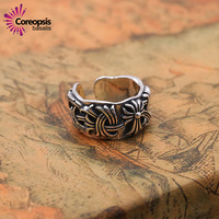 2017 New Designed Men S Rings S925 Sterling Silver Thai Silver Jewelry Punk Personality Pop Retro