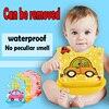 Free Shipping To Eat Baby Bib Children Pocket Baby Bib Waterproof Silicone Imitation Rice Meal Bag