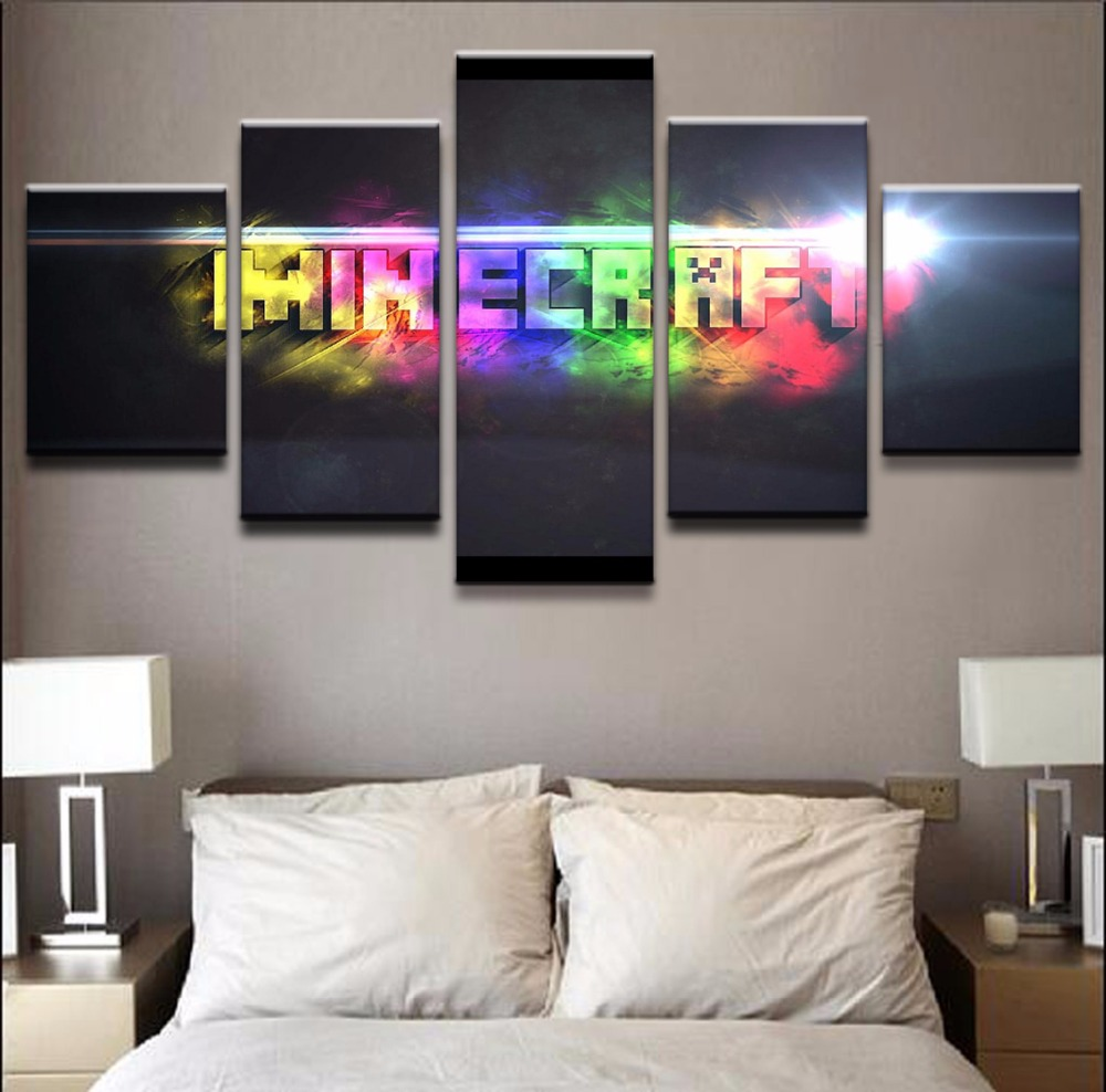 Online Get Cheap Minecraft Poster Aliexpress