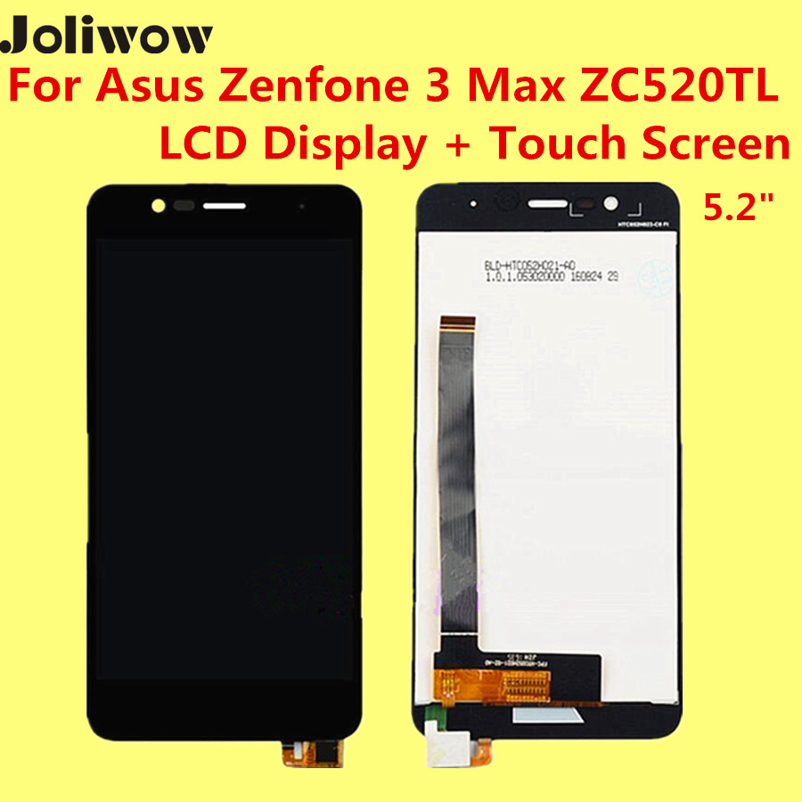 ФОТО High quality For Asus Zenfone 3 Max ZC520TL LCD Display + Touch Screen +tools  5.2