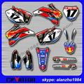 MOTOCROSS HIGH PERFORMANCE YZ250F 450F06 07 08 09 3M GRAPHICS DECALS STICKERS KITS OFF ROAD MOTORCYCLE DIRT BIKE