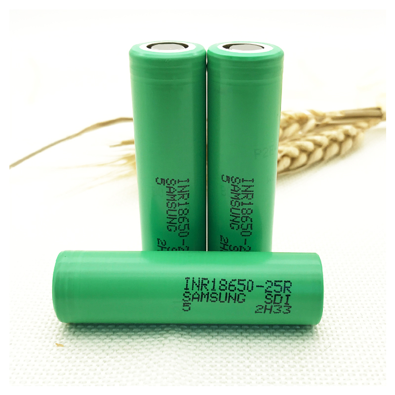 3 PCS for Samsung 18650 2500mAh INR1865025R 20a lithium battery continuous discharge capacity of the electronic cigarette 1pcs for samsung original 18650 25r inr1865025r 20a discharge lithium batteries 2500mah electronic cigarette power battery