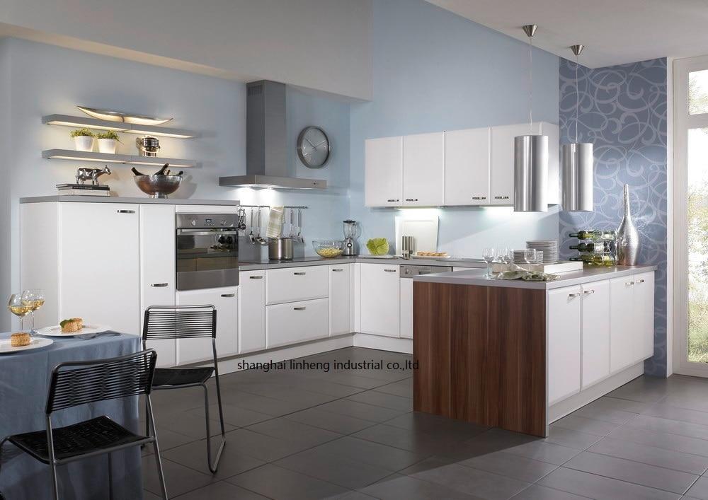 Haute brillant/laque armoires de cuisine mordern (LH-LA085)