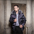 Winter jacket men 2016 parka men Fashion quality fox fur collar duck down jacket medium-long thicken winter coat men size s-xxl