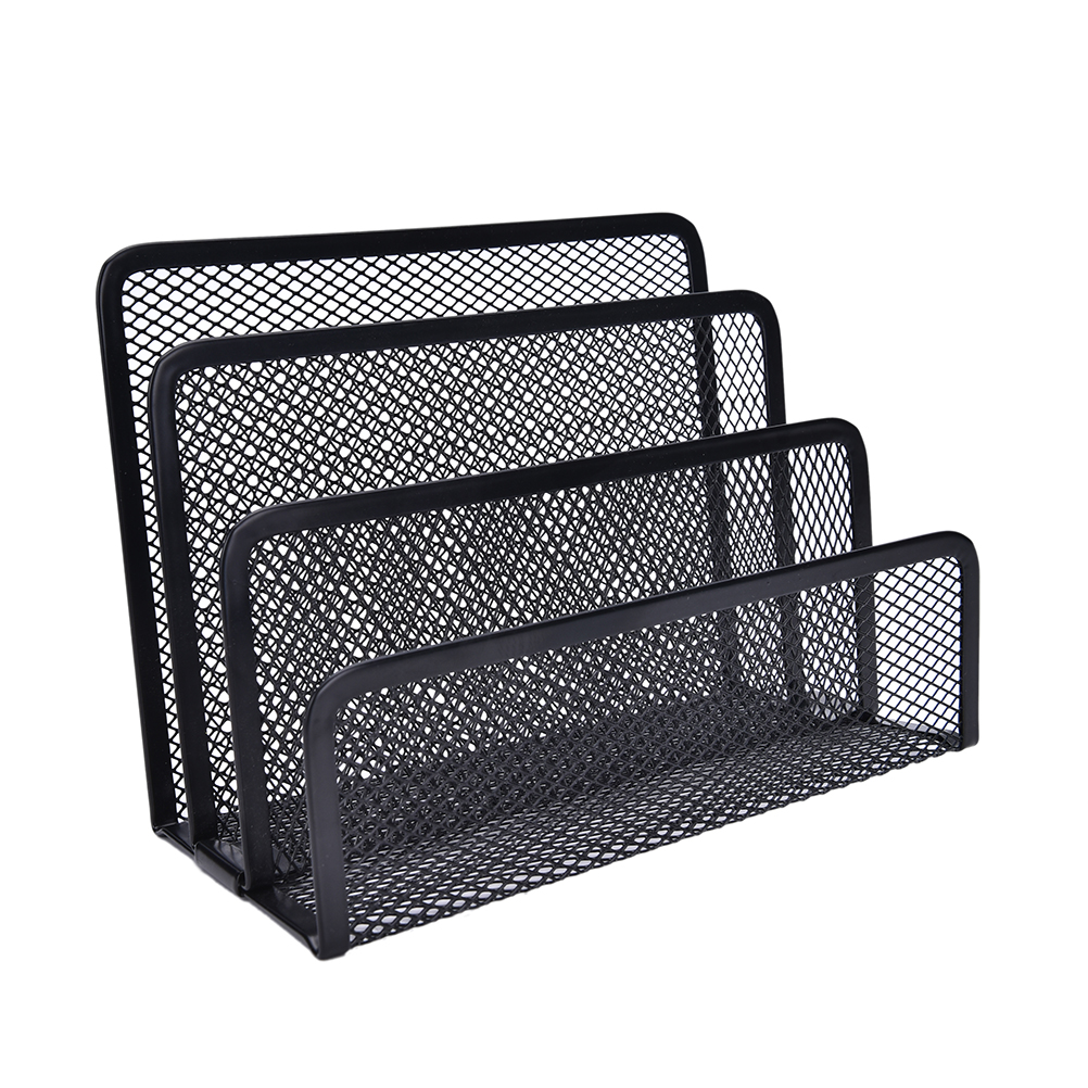 letter sorter black mesh mail document tray desk office file organiser business storage in file folder from office school supplies on aliexpresscom