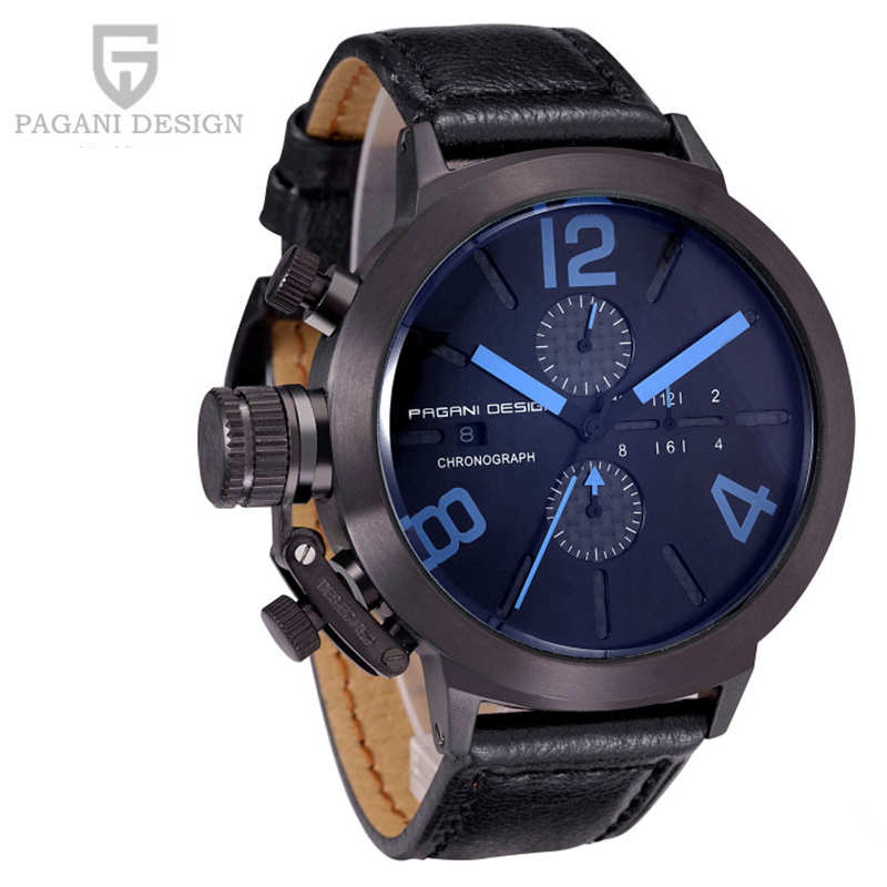 Unique And Innovative Design Men Military Watches Luxury Brand Multifunction Quartz Watch Relogio Masculino Pagani Design